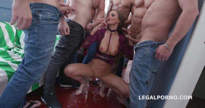 Tina Kay [Happy B-day Tina Kay 10o1 DAP Gangbang with Balls Deep Anal / Squirting / Gapes / 11 Cumshots GIO655] [HD]
