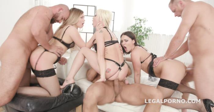 [Legal Porno] Barbie Sins, Selvaggia, Ellen Betsy [One Two Three & More Part 1 Barbie Sins, Selvaggia & Ellen Betsy getting Balls Deep Anal / DAP / Squirt GIO669] [HD]