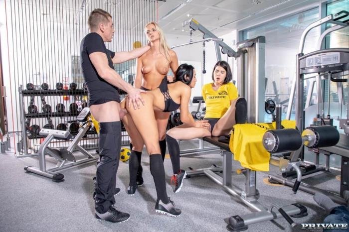 [Europe Private Porn] ANA ROSE, KATY SKY, LADY DEE [Lady Dee, Anna Rose and Katy Sky fuck the trainer] [FullHD]