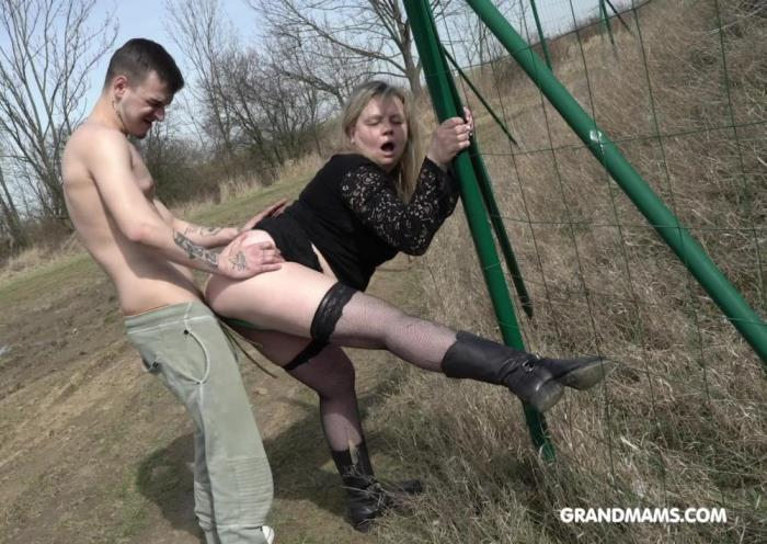 [Grandmams - Old women fucked crazy by some young guys] Amateur [Lustful Grandma Enjoying A Young Guy] [FullHD]