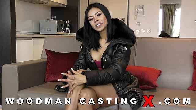 [Woodman Casting X - Casting By Pierre Woodman] Canela Skin [English Casting] [HD]