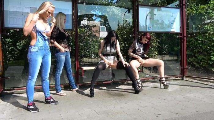 [My Dirty Hobby] Lara-CumKitten [Public Pee At The Bus Station] [HD]