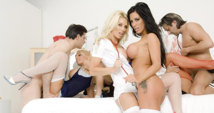 [GROUP SEX GAMES Videos] Charlie Monaco, Jasmine Black, Sammi Jay, Stacey Saran, Tammie Lee [Borata 5] [SD]