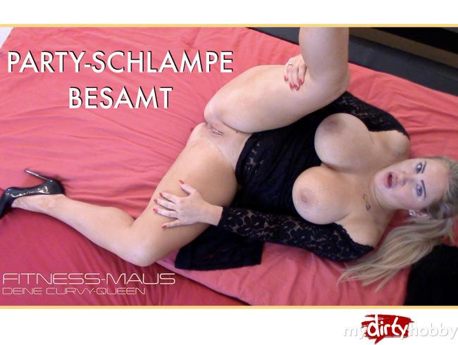 [My Dirty Hobby] Fitness-Maus [Party-Schlampe besamt / PARTY-BITCH TOTAL! 8/20/18] [FullHD]