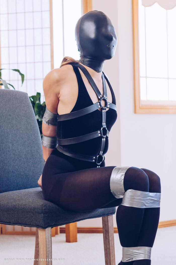 [RestrictedSenses.com] Mina [Velvet Thong Bodysuit and Panic Hood] [FullHD]