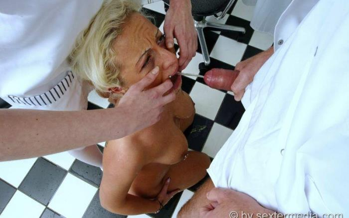 [Real German Erotic] Dana (24) [Doctor pisses during practice sex] [FullHD]