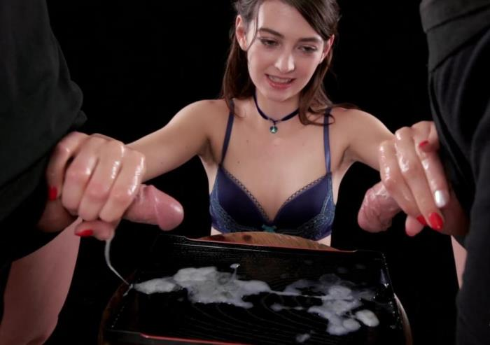 [Tera Link Uses A Group of Guys' Cum For One Messy Handjob] [FullHD] SpermMania