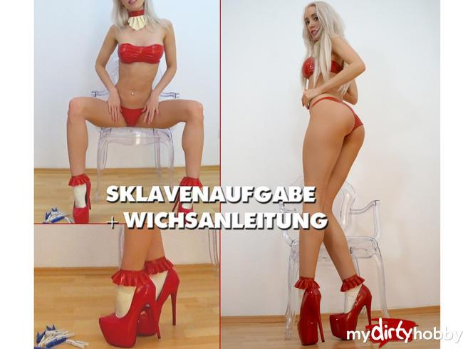 CandyXS [Slave task + Wichsanleitung] [FullHD] MyDirtyHobby