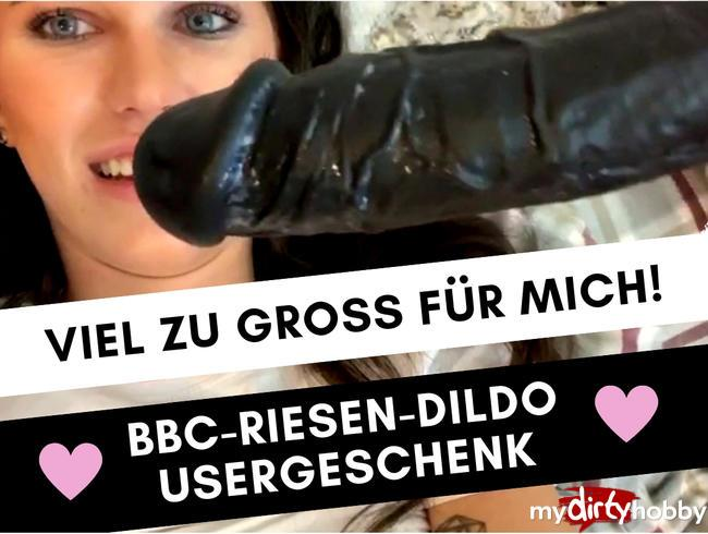 Jin-Schimmer [MUCH TO CRAP: BBC DILDO IN OVER SIZE] [FullHD] MyDirtyHobby